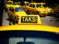 Taksiciler birbirine girdi!