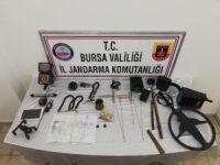 Jandarma kaçak kazıya geçit vermedi! 11 gözaltı