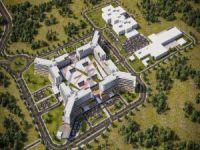 Türkiye'nin en büyük hastanesi Bursa'da yapılıyor.