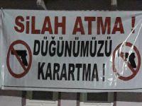 Bursalılardan anlamlı mesaj!