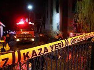Adana'da kız öğrenci yurdunda yangın faciası