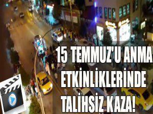 Bursa'da talihsiz kaza!