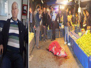 Bursa'da pazarda dehşet