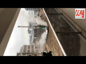 Bursa'da doğalgaz patlama anı!