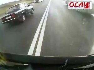 Korkunç kazadan böyle kurtuldu!