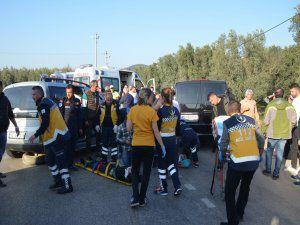 Bursa'da kaza: 10 yaralı!