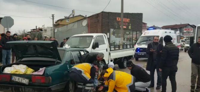 Bursa'da film gibi kaza