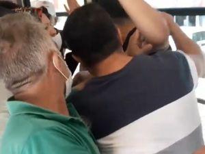 Bursa metrosunda 'sapık' kavgası!